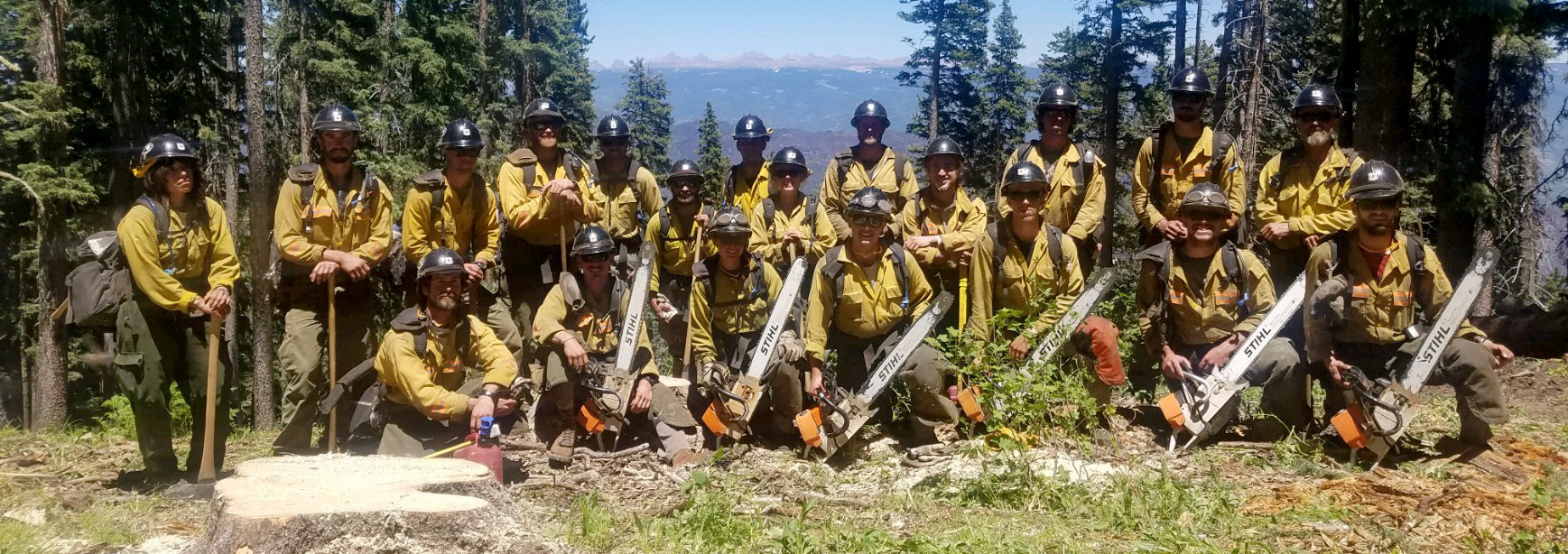 Flagstaff Hotshots Group Photos
